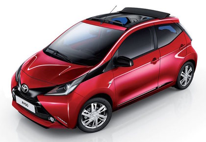 """Pay & Drive "" TOYOTA AYGO 1.0 VVT-I -x - business  MMT micro car 5p"