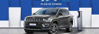 """Senza limiti"" Jeep Compass 1.3 T4 Phev 190 cv Business  4 xe auto"